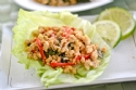 Chicken Lettule Wraps